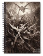 The Fall Of The Rebel Angels Spiral Notebook