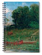 The Farm Landing Spiral Notebook