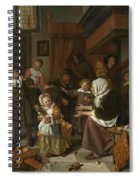 The Feast Of St. Nicholas Spiral Notebook