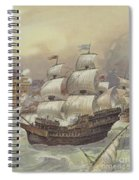 The Fleet Of Jean Ango Blocks The Tagus Spiral Notebook