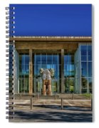 The Fort Worth Modern Art Museum Spiral Notebook