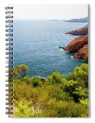 The French Riviera  Spiral Notebook