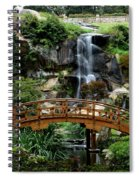 The Garden Bridge Spiral Notebook