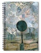 The Gare Saint-lazare Spiral Notebook