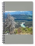 The Grande Tetons Spiral Notebook