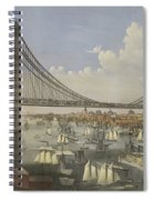 The Great East River Suspension Bridge Spiral Notebook