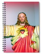 The Hands Of Christ Spiral Notebook