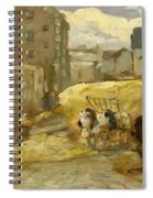 The Hay Cart Spiral Notebook