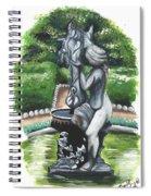 The Hidden Fountain Spiral Notebook