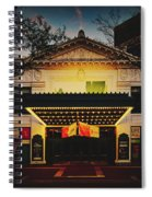 The Hilbert Circle Theatre Of Indianapolis Spiral Notebook