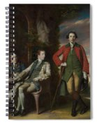 The Honorable Henry Fane With Inigo Jones And Charles Blair Spiral Notebook