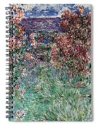 The House Among The Roses Spiral Notebook