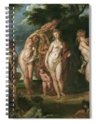 The Judgment Of Paris Spiral Notebook