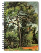 The Large Pine Spiral Notebook