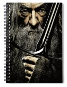 The Leader Of Mankind  - Gandalf / Ian Mckellen Spiral Notebook