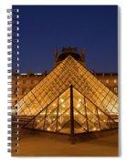 The Louvre Art Museum Spiral Notebook