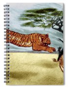 The Lunge Spiral Notebook