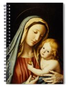 The Madonna And Child Spiral Notebook