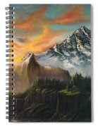 The Majestic Mountain Spiral Notebook