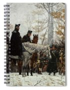 The March To Valley Forge Spiral Notebook