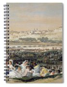 The Meadow Of San Isidro Spiral Notebook