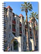 The Mission Inn  Spiral Notebook