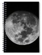 The Moon -  Spiral Notebook