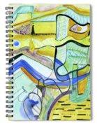 The Morning Light Spiral Notebook