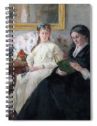 The Mother And Sister Of The Artist Spiral Notebook