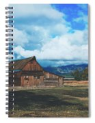 The Moulton Barn Spiral Notebook