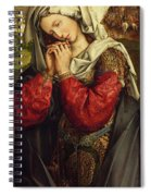 The Mourning Mary Magdalene Spiral Notebook