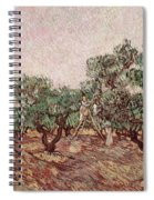 The Olive Pickers Spiral Notebook
