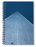 The One World Trade Centre Or Freedom Tower New York City Usa Spiral Notebook