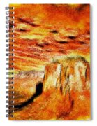 The Painted Desert Spiral Notebook