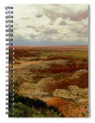 Viewpoint In The Painted Desert Spiral Notebook