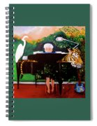 The Pianist  Spiral Notebook
