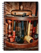 The Pipe Smoker Spiral Notebook