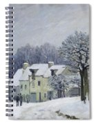 The Place Du Chenil At Marly Le Roi Spiral Notebook