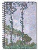 The Poplars Spiral Notebook
