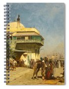 The Port Of Algiers Spiral Notebook