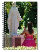 The Praying Princess Spiral Notebook