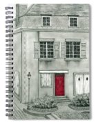 The Red French Door Spiral Notebook