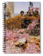 The Roses Of Heliogabalus Spiral Notebook