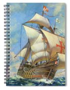 The Santa Maria Spiral Notebook