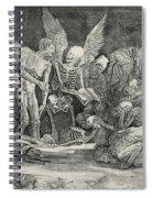 The Skeletons Spiral Notebook