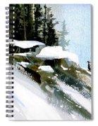 The Steep Climb Spiral Notebook