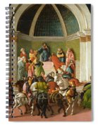The Story Of Virginia Spiral Notebook