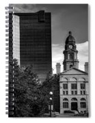 The Tarrant County Courthouse Spiral Notebook