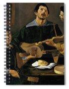 The Three Musicians Spiral Notebook