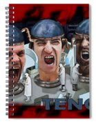 The Three Tenors Spiral Notebook